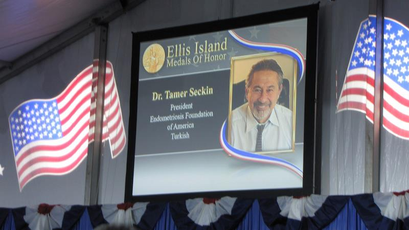 Ellis Island Medal of Honor Tamer Seckin