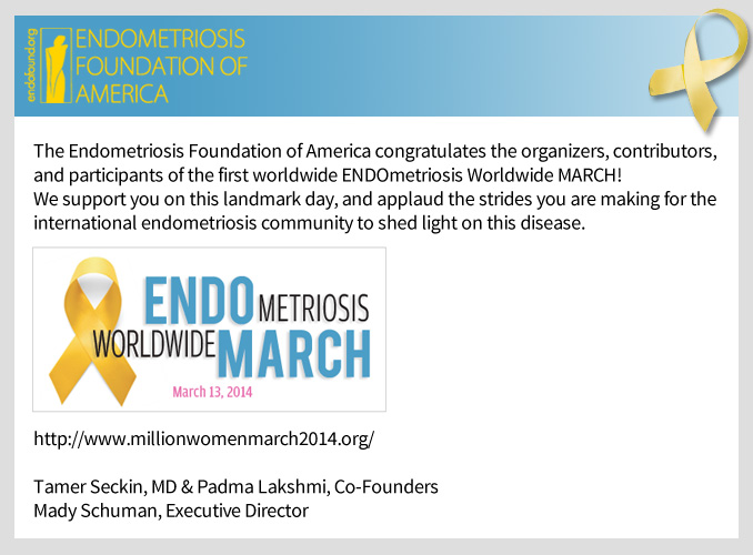 Celebrate a Landmark Day in Endometriosis Awareness