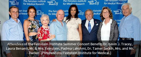 Train Concert Raises $1.5 Million for Feinstein Institute for Medical Research