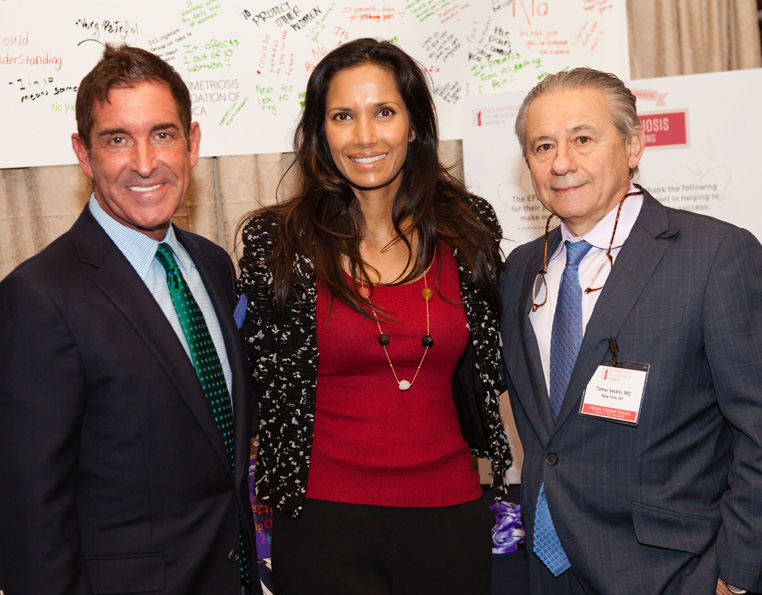 ew York State Senator Jeffrey Klein (D-Bronx/Westchester), together with Padma Lakshmi and Dr. Tamer Seckin, Co-Founders of the Endometriosis Foundation of America (EFA)
