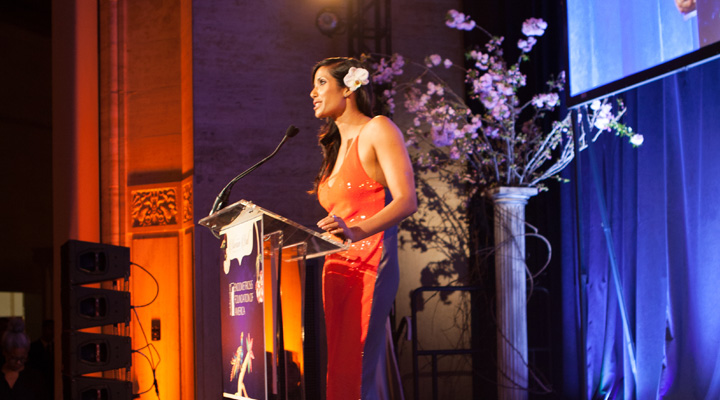 Hosted by co-founders, Padma Lakshmi and Dr. Tamer Seckin,