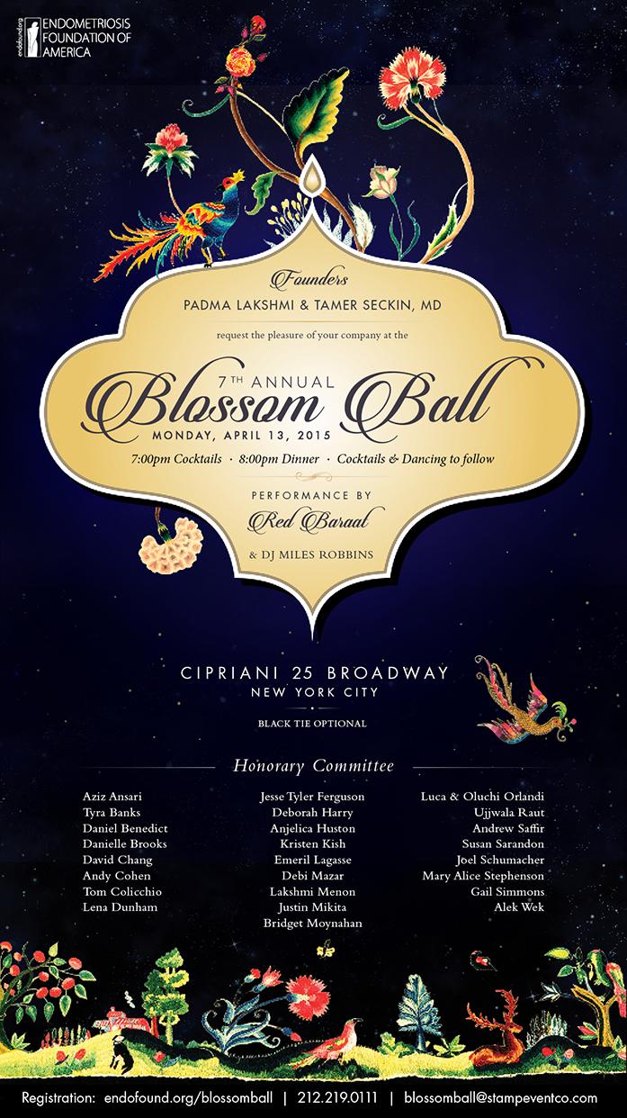 SEVENTH ANNUAL BLOSSOM BALL