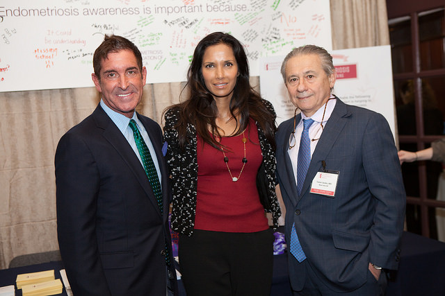 Senator Jeffrey Klein on April 11, 2015. The award was presented by EFA co-founders Dr. Tamer Seckin and Padma Lakshmi