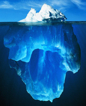 iceberg, endometriosis