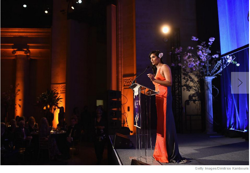 Padma Lakshmi Hosts the Blossom Ball to Benefit the Endometriosis Foundation of America