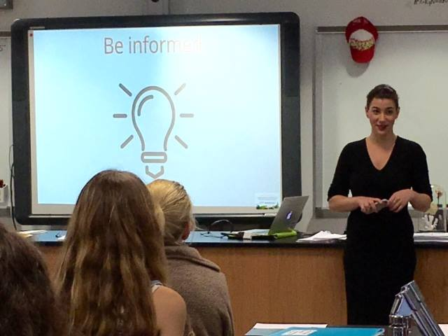 Q&A with Frankie Kuhn:  EFA volunteer shares her story at ENPOWR presentations
