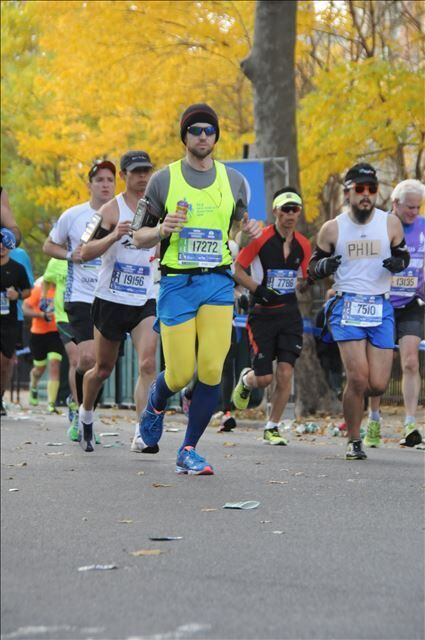 What first inspired you to get involved with charitable running for TCS NYC Marathon