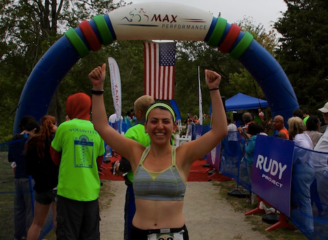 Q&A with Hannah Ephraim: <h3 style='text-align:center'>Triathlete runs, bikes and swims for endometriosis and the EFA</h3>