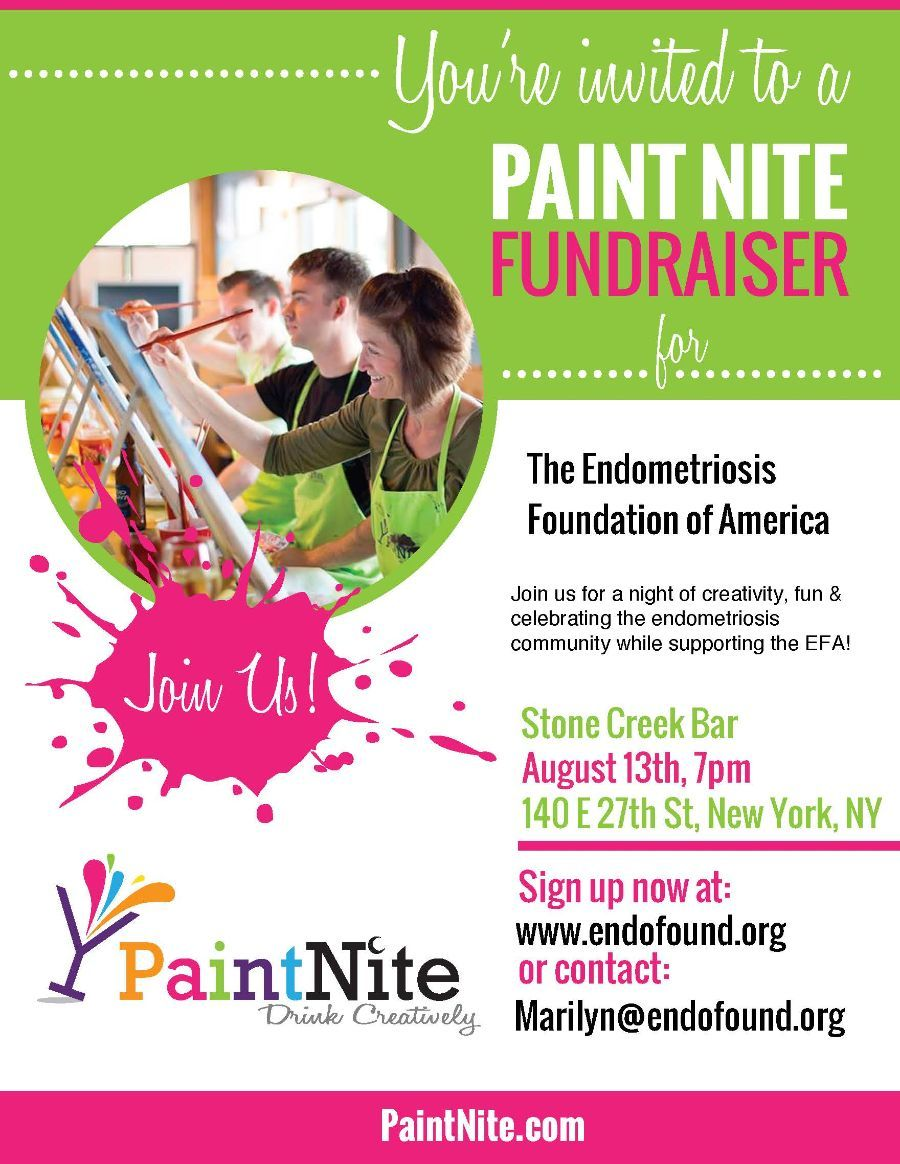 Paint Nite in NYC