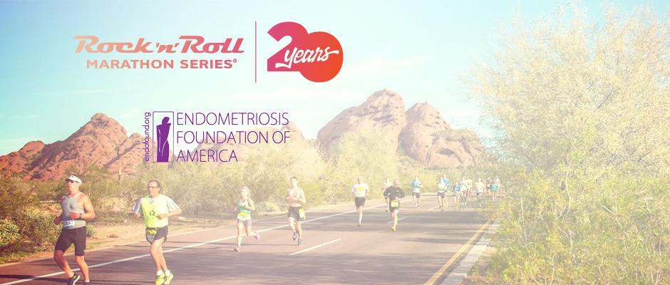 1fd1b82f2 2017, 18 Rock 'n' Roll Marathon Series, Endofound, Endometriosis F