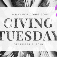 Giving Tuesday: Your Day to Do Good