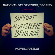 It's time to show your #UNSelfie for the EFA and #GivingTuesday!