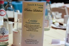 'Consider Endometriosis' Tool Kit Launched at 2012 Nurse Conference / Lunch & Learn with Padma Lakshmi