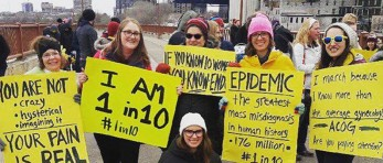 Painting the World Yellow! Supporters Share Worldwide Endometriosis March 2018 Photos