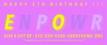 Help Us Celebrate: EndoFound's ENPOWR Project Turns 5!
