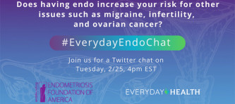 Join EndoFound and EverydayHealth for a Tweetchat on February 25th at 4pm EST