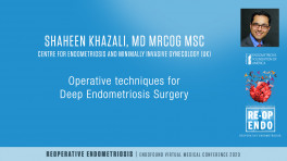 Operative techniques for Deep Endometriosis Surgery - Shaheen Khazali, MD