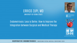 Endometriosis: Less is better  - Errico Zupi, MD