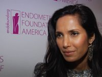Padma Lakshmi at the 2010 EFA Holiday Celebration