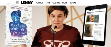 What Lena Dunham is reading