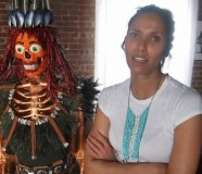 "Padma Lakshmi Gives Kiehl's ""Mr. Bones"" a Makeover to Benefit EndoFound"
