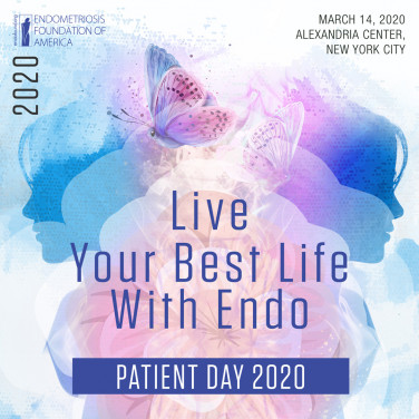 The Endometriosis Foundation of America is hosting the 11th Annual Patient Day: Live Your Best Life with Endo