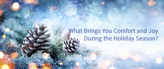What Brings You Comfort and Joy During the Holiday Season?