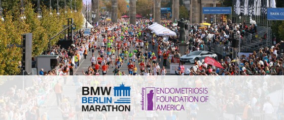 The Endometriosis Foundation of America Joins<br /> the 2018 BMW Berlin Marathon!
