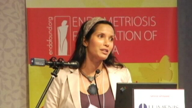 Medical Conference - Padma Lakshmi