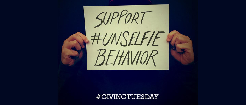 It's time to show your #UNSelfie for EndoFound and #GivingTuesday!