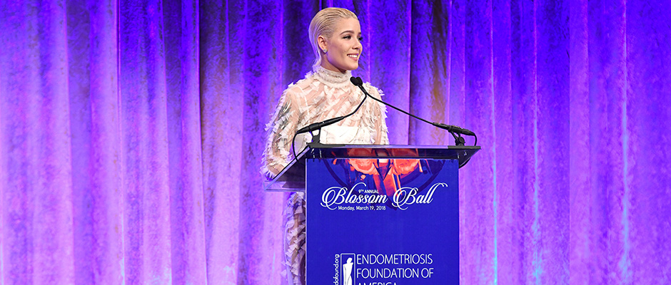 WATCH AND READ: Halsey's Tearful Acceptance Speech from the 2018 Blossom Ball