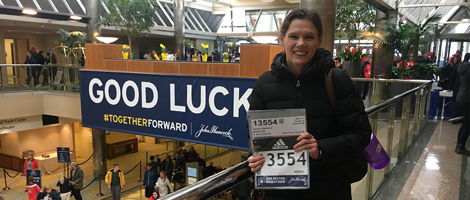 She Was Hospitalized for Endometriosis—and Ran  the Boston Marathon One Week Later