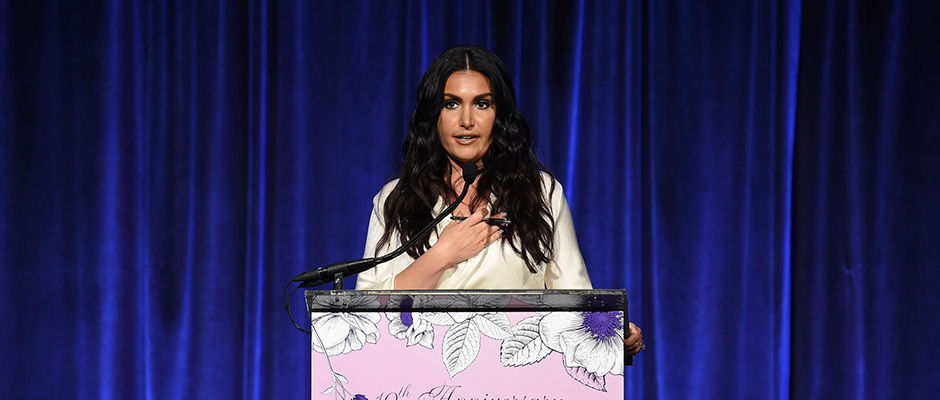 Molly Qerim Rose - Blossom Ball 2019