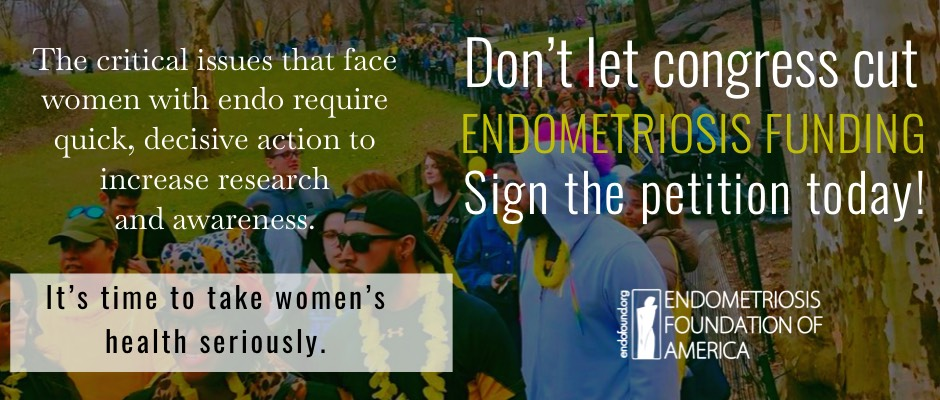 STOP Congress from Cutting Endometriosis Research Funding, Period!