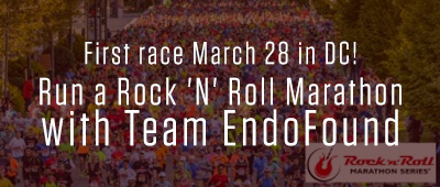 Run, Rock, and Roll with The Endometriosis Foundation of America!