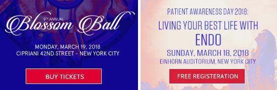 Endometriosis Foundation of America 2018 Events