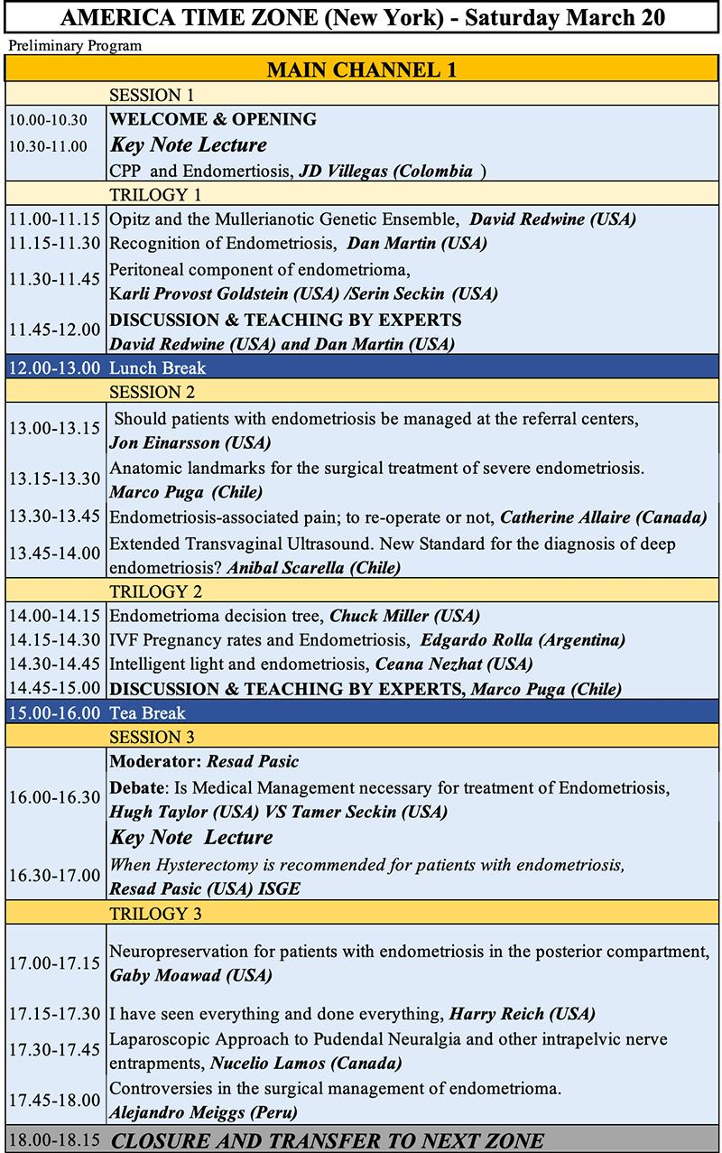 EndoFound Patient Conference